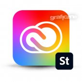 Adobe Creative Cloud for Teams All Apps z usługą Adobe Stock (2019) ENG Win/Mac. – licencja imienna dla instytucji EDU