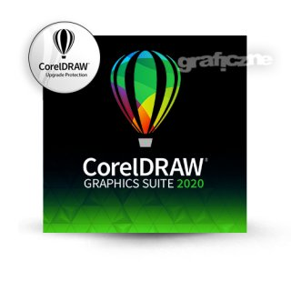 CorelDRAW Graphics Suite 2020 PL Win (+ Upgrade Protection 1 Rok)