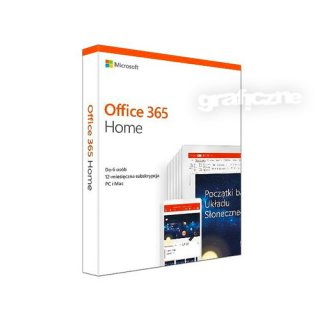 Microsoft Office 365 Home MULTI Win/Mac BOX medialess