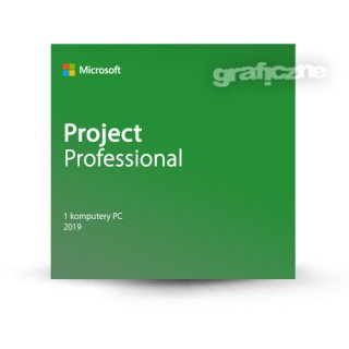 Microsoft Project Professional 2019 PL Win