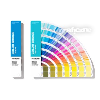 Pantone Color Bridge Guide Set Coated & Uncoated (powlekane i niepowlekane)