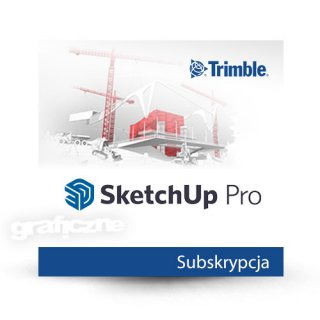 Trimble SketchUp Pro 2021 ENG Win/Mac – Subskrypcja 1 rok – Student & Teacher