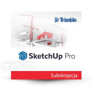 Trimble SketchUp Pro 2021 PL Win/Mac – Subskrypcja 1 rok